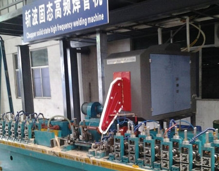 Chengdu 200kW high-frequency welded site